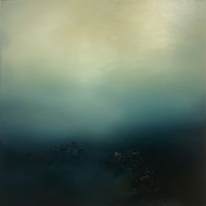 Theresa Hunt - Blue Haze - Oil Painting