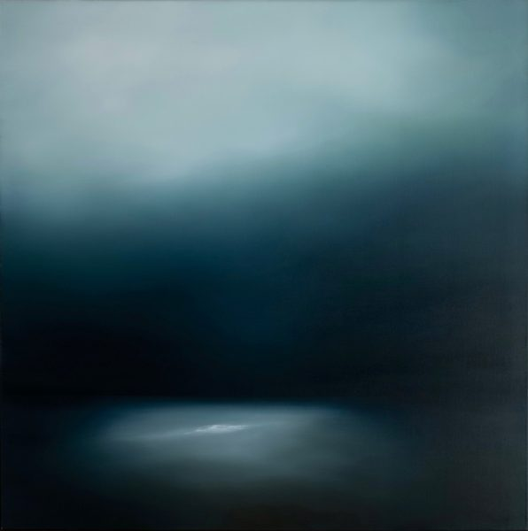 Theresa Hunt - Moon Tide - Oil Painting