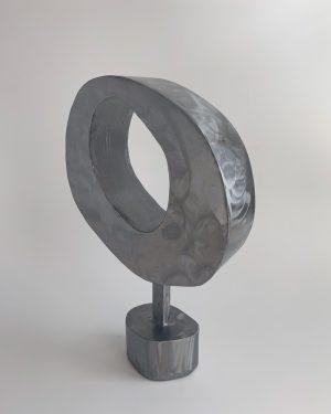 Tracey Lamb - Quiet Night In - Steel Sculpture