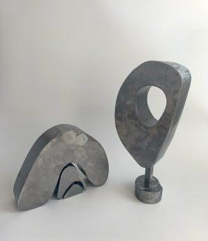 Tracey Lamb - Nesting - Steel Sculpture