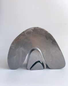 Tracey Lamb - Nesting - Steel Sculpture