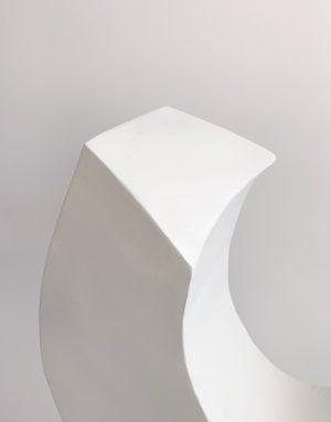 Tracey Lamb - Half Moon - Steel Sculpture