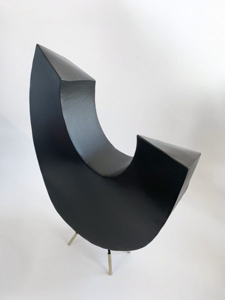 Tracey Lamb - Glancing at the Sky - Steel Sculpture