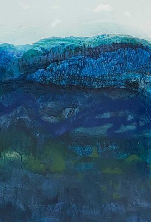 Fleur Stevenson - Skyscape: Wallaby Rock - Painting