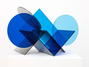 Kate Banazi - Intersection 10 - Perspex Sculpture