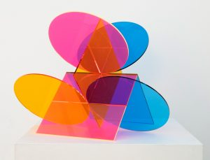 Kate Banazi - Colour Perspex Sculpture