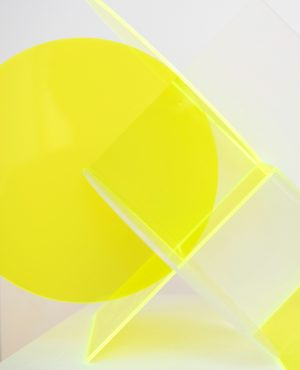 Kate Banazi - Intersection 7 - Perspex Sculpture