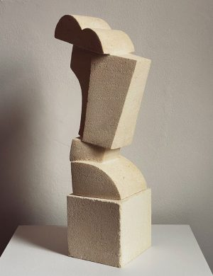 Lucas Wearne - Form Study V - Limestone Sculpture