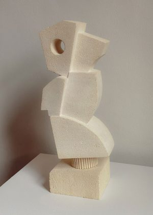 Lucas Wearne - Form Study VI - Limestone Sculpture