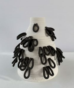 Susan Chen - Bud - Ceramic Sculpture