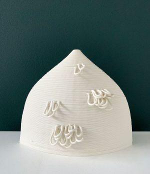 Susan Chen - Hull - 3D Printed Ceramic Sculpture