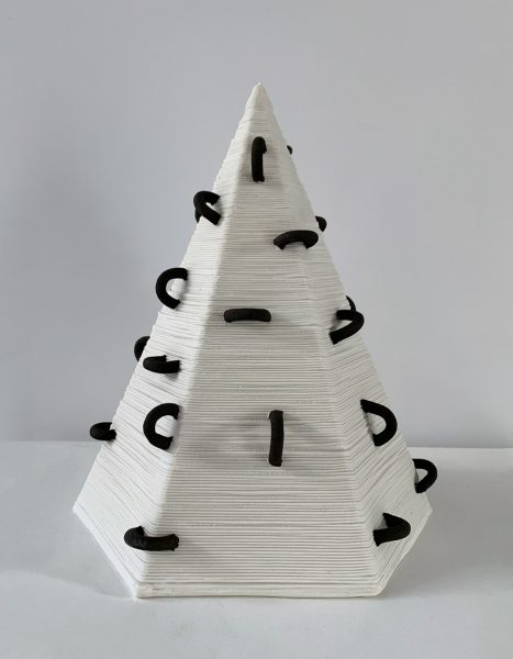 Susan Chen - Large Pyramid - 3D Printed Sculpture