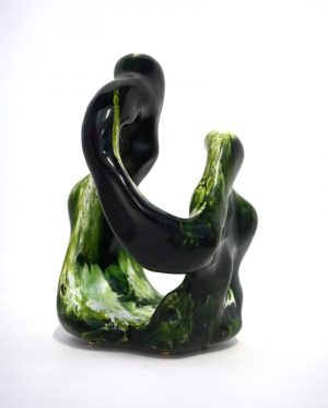 William Versace - Nonni Green - Resin Sculpture