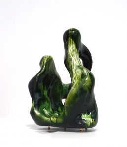 William Versace - Nonni Green - Resin Sculpture