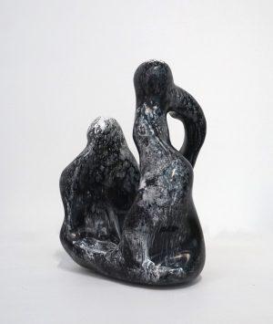 William Versace - Nonni Black + White - Resin Sculpture