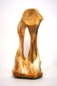 William Versace - Ancestor Amber - Resin Sculpture