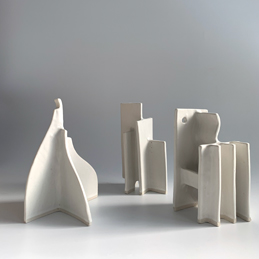 Natalie Rosin - Maquettes - Ceramic Sculpture