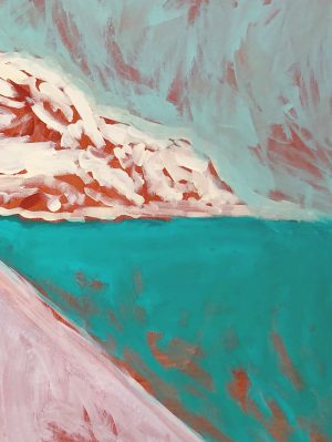 Amber Hearn - Bay of Fires - landscape painting