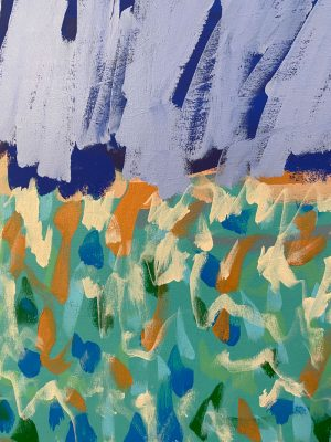 Amber Hearn - Flagstaff Dreams - landscape painting