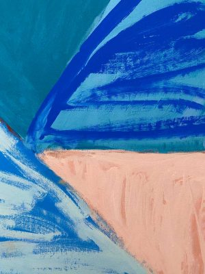 Amber Hearn - Byron Street Mountain - landscape painting