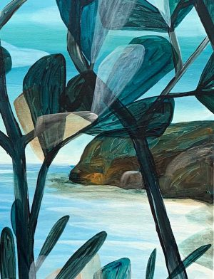 Ingrid Daniell - Glimpse of Hope Through the Shea Oaks - Landscape Painting