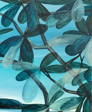 Ingrid Daniell - Sublime Beach Days, Full of Hope - Landscape Painting