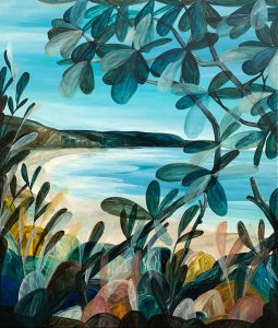 Ingrid Daniell - Sublime Beach Days, Full of Hope - Landscape Painting