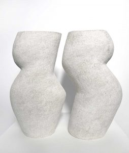 Katarina Wells - Back to Back - Sculpture