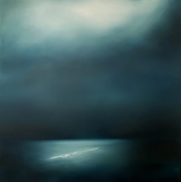 Theresa Hunt - La Luna - Oil Painting