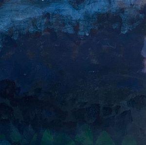 Fleur Stevenson - Mooney Mooney In January - Painting