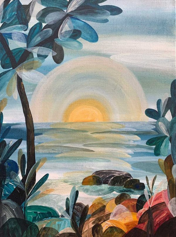 Ingrid Daniell - Remember The Dawn, Hope Of The New Day - Landscape Painting