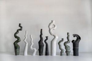 Kerryn Levy - Asymmetry Pair 19.73 + 74 - Sculpture