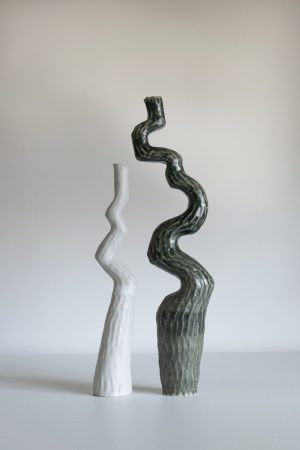 Kerryn Levy - Asymmetry Pair 20.52 + 53 - Sculpture