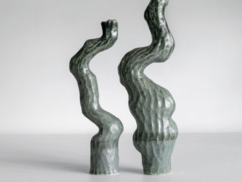 Kerryn Levy - Asymmetry Pair 20.61 and 62 - Sculpture