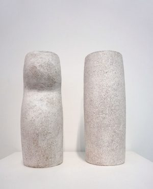 Katarina Wells - Cheek To Cheek - Sculpture Pair