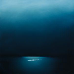 Theresa Hunt - Waiting Wishing - Oil Painting