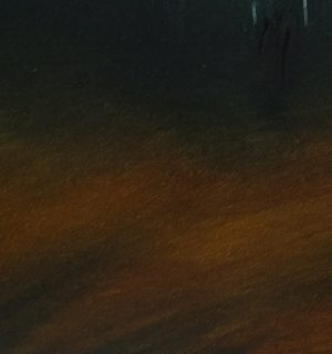 Theresa Hunt - The Valley Treeline - Oil Painting