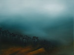Theresa Hunt - The Valley Treeline - Oil Painting