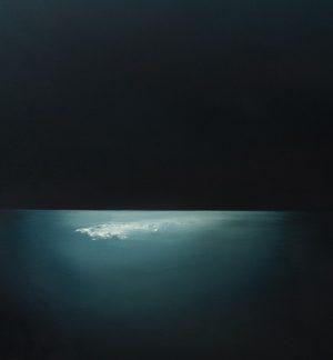Theresa Hunt - Moonlight Wishing - Oil Painting