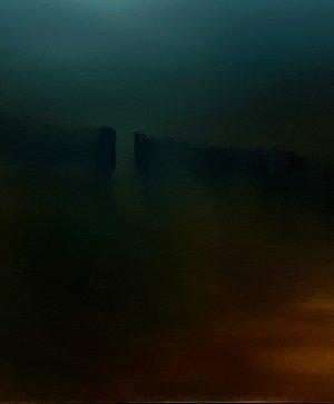 Kerryn Levy - Beyond Fiesole - Oil Painting