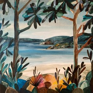 Ingrid Daniell - The Opening In the Bush, Dreaming Beyond - Landscape Painting