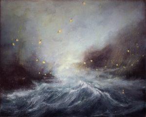 Susie Dureau - The Torchbearers - Landscape Painting