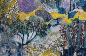 Amy Wright - Tea Tree At Crescent Hill - Landscape Painting