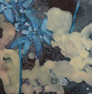 Amy Wright - The Ghost Plants Floated Amidst Clouds - Landscape Painting