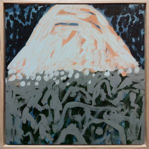Lily Cummins - Night Dream Mountain - Painting