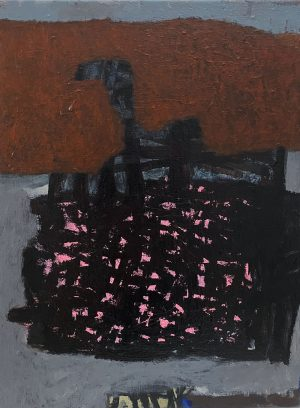 Ana Young - Seeing Pink - painting