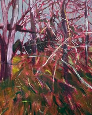 Ben Crawford - Familiar Branches - Painting