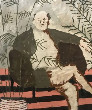 Darcy McRae - Portrait of Picasso - Painting