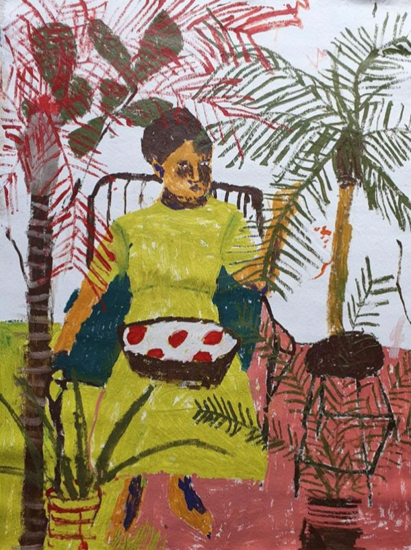 Darcy Mcrae - Isabel In The Garden - Painting
