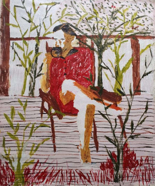 Darcy Mcrae - Morning Tea With Pia - Painting